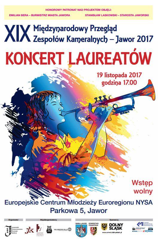 XIX Międzynarodowy Przegląd Zespołów Kameralnych – Jawor 2017